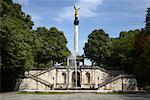 Ange de paix Statue, Munich, Allemagne
