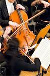 Klassisches Konzert, Streichinstrumente