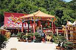 Zehntausend Buddhas Kloster, Sha Tin, neue Territorien, China