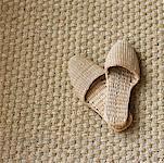 Still Life of Spa Slippers