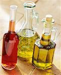 Three Bottles of Oil and Vinegar