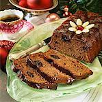 Rum-soaked chocolate and prune cake