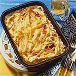 Tentation de Jansson (plat de pommes de terre et anchois, Suède)