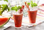 Spicy watermelon cocktail