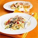 Lamb fillet with couscous