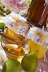 Figues de miel et vert