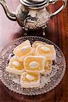 Turkish delight avec amandes et noix de coco