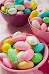 Amandes de sucre coloré