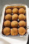 Falafel (Bälle Küken-Phenylethylamin) in Alu-Schale