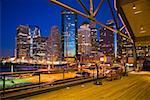 Manhattan in the evening