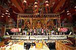 Das Po-Lin-Kloster, Ngong Ping, Lantau Island, Hong Kong, China