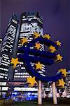European Central Bank Building, Frankfurt, Hessen, Germany
