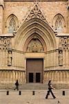 Église de Santa Maria del Mar, Barcelone, Espagne