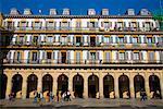 Plaza de la Constitucion, San Sebastian, Basque Country, Spain