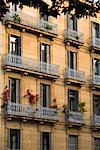Buildings, San Sebastian, Basque Country, Spain