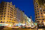The Gran Via, Madrid, Spain