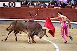 Stierkampf, Plaza de Toros de Las Ventas, Madrid, Spanien