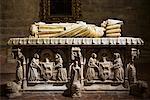 Tombe, la cathédrale de Santa Maria de la Sede, Séville, Espagne