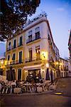 Outdoor Restaurant, Seville, Spain