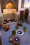 Salle à manger, le Riad Dar Roumana, Fès, Maroc