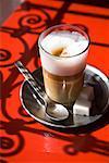 Afrikanischer Kaffee, Medina von Marrakech, Marokko
