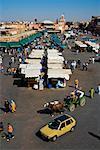 Jemaa El Fna, Medina von Marrakech, Marokko