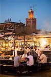 Food-Stand, Jemaa El Fna, Medina von Marrakech, Marokko