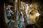 A Limestone Cave at Talava Arches, Niue Island, South Pacific