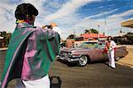 Parkes Elvis Festival Parade, Parkes, New South Wales, Australia