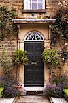 Exterior of House, Derbyshire, East Midlands, England