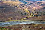North Klondike River Valley, Tombstone Mountain Range, Tombstone Territorial Park, Yukon, Canada