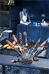 Sausage Vendor, Mal Pais, Puntarenas Province, Costa Rica