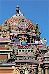 Maurice, temple tamoul hindouiste