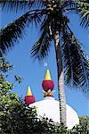 Mauritius, Tamil temple, dome