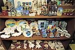 Maurice, Port-Louis, souvenirs en vente