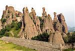 Bulgarie, belogradchik, forteresse et roches