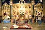 Bulgarie, Sofia, la cathédrale Alexander Nevsky, intérieur