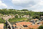 Bulgarie, Veliko Tarnovo, la colline de Tsarevets, Citadelle