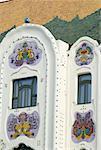 "Hungary, Kecskemét, Cifra Palota  ""Ornamental Palace"", detail"