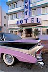 United States, Florida, Miami Beach, classic car