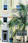 United States, Florida, Miami Beach, Art Deco facade