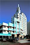 United States, Florida, Miami Beach, Art Deco building