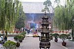 La Chine, la province du Shanxi, Pingyao, Confucius palais et temple