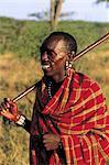 Tanzania, Maasai portrait