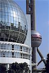 China, Shanghai, Pudong, TV Tower