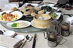 "China, Shanghai, gastronomy, ""dim sum"" steam cooked"