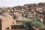 Village traditionnel de Niger, Bouza,