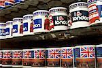 Angleterre, Londres, Londres couleur tasses