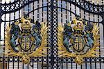England, London, Buckingham Palace, gate