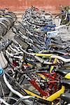 China, Beijing, bike shed
